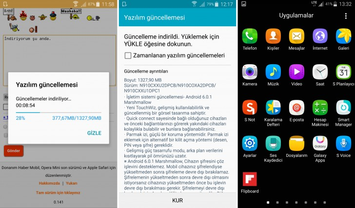 Galaxy Note 4 Marshmallow update released by Sprint ...