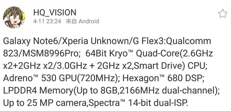 Snapdragon 823 Details