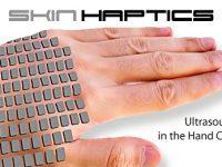 SkinHaptics macht die Handfläche zum Touchpad
