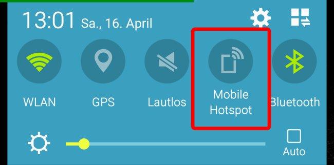 WLAN-Hotspot