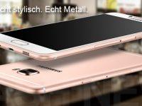 Samsung Galaxy C5 und Galaxy C7 ist nun offiziell vorgestellt