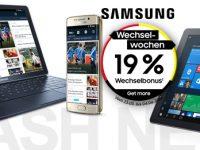 Samsung Wechselwochen: Cashback zur Fußball-EM 2016