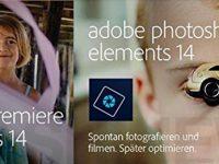 50% Rabatt: Adobe Photoshop und Premiere Elements 14 für Prime Kunden günstiger