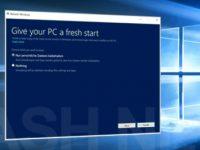 Windows 10 Refresh Tool löscht OEM-Bloatware