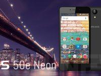 ARCHOS 50e Neon: 80 Euro Smartphone mit neuestem Android OS