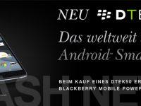 BlackBerry DTEK50 verspätet sich gepflegt