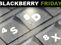 BlackBerry behält seine Hardware Tastatur [BlackBerry Friday]