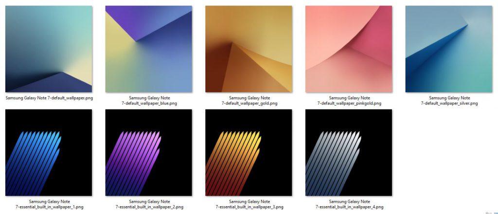 Download Die Original Wallpaper Des Samsung Galaxy S7: Download Der Samsung Galaxy Note 7 Wallpaper