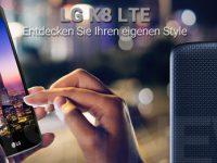 LG K8: 5 Zoll Einsteiger Smartphone für 99 Euro
