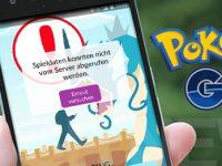Pokémon GO: Aktuell kein Login aufgrund von Serverproblemen
