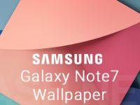 Download der Samsung Galaxy Note 7 Wallpaper