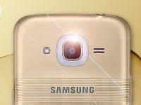 Samsung Galaxy J2 zeigt die neue Smart Glow Benachrichtigung