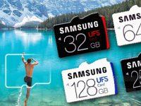 Samsung präsentiert schnellste MicroSD-Speicherkarte