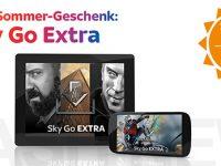 Sky stopft das Sommerloch: 3 Monate Sky Go Extra gratis!