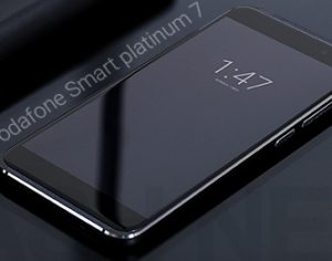 Smart Platinum 7: Android 7.0 Nougat Flaggschiff von Vodafone