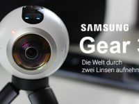 [Test] Samsung Gear 360: Die erste Consumer VR-Kamera