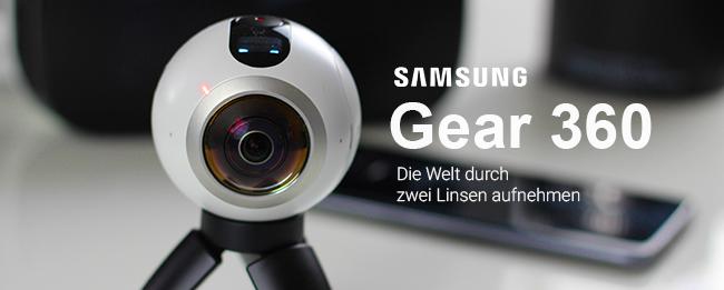 Test Samsung Gear 360: Die erste Consumer VR-Kamera