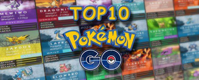 top10-pokemon-go