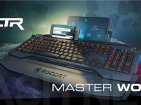 Roccat Skeltr: PC-Tastatur als Smartphone-Dock und Fernbedienung