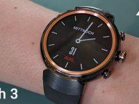 ASUS ZenWatch 3: Erste runde Android Wear Smartwatch offiziell