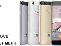Huawei Nova und Nova Plus offiziell präsentiert
