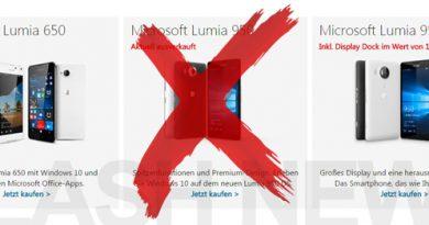 FLASH NEWS] Microsoft Lumia 950 und 950 XL vor Marktstart