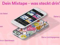 "Spotify präsentiert neue Playlist ""Dein Mixtape"""