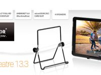TrekStor SurfTab theatre 13.3: Entertainment Tablet für 199 Euro