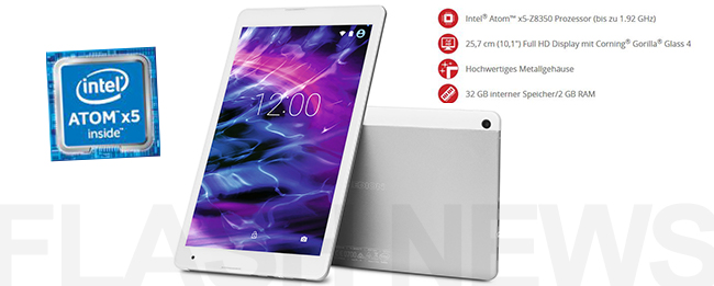 10 zoll marken android 6 0 tablet f r nur 199 euro. Black Bedroom Furniture Sets. Home Design Ideas