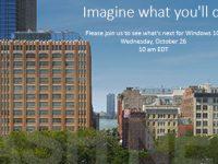 Microsoft Surface Event nun offiziell zum 26. Oktober bestätigt