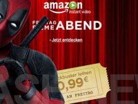 Nur heute Deadpool für 99 Cent bei Amazon Video
