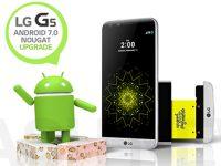 LG gewinnt das Android 7.0 Nougat Update Rennen mit dem LG G5