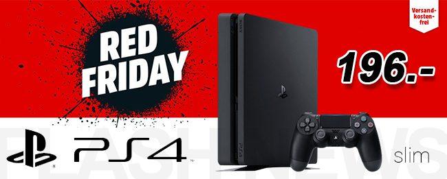 Ps4 Sony Playstation 4 Slim Heute Für 196 Euro Beim Media Markt