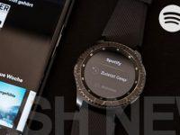 Samsung Gear S3 und Gear S2 Smartwatch erhalten Spotify App