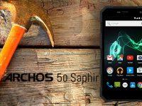 ARCHOS 50 Saphir Outdoor: Hässlich aber mit gewissen Vorteilen