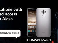 Huawei Mate 9 ist das erste Smartphone mit Amazon Alexa