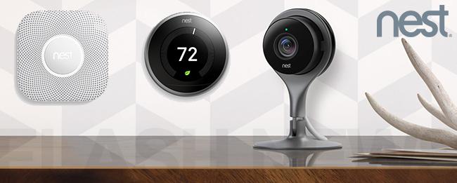 nest google smart home produkte nun auch bei uns erh ltlich. Black Bedroom Furniture Sets. Home Design Ideas