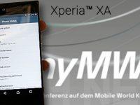 Sony Xperia XA 2017 zeigt sich in einem HandsOn Video