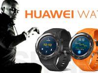Huawei Watch 2 in drei sportlichen Farben zu sehen