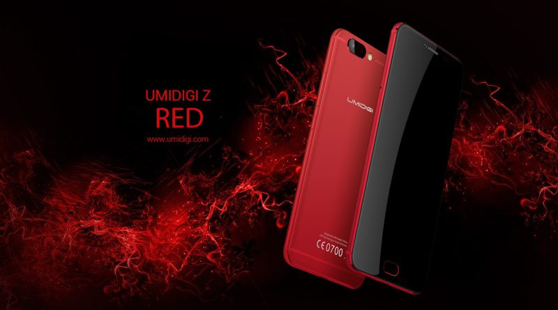 Umidigi Z in rot