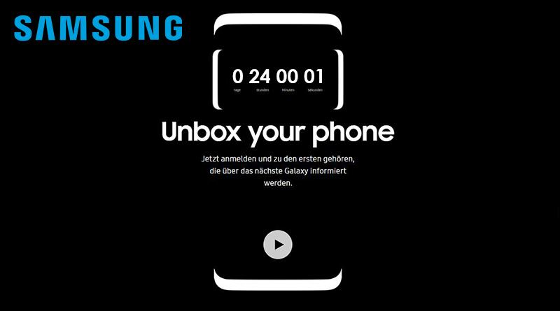 Die Samsung Galaxy S8 Präsentation live miterleben