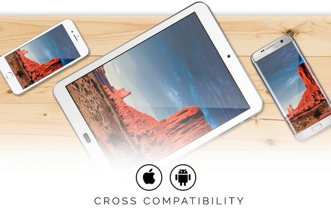 Superscreen kompatibel mit IOS und Android