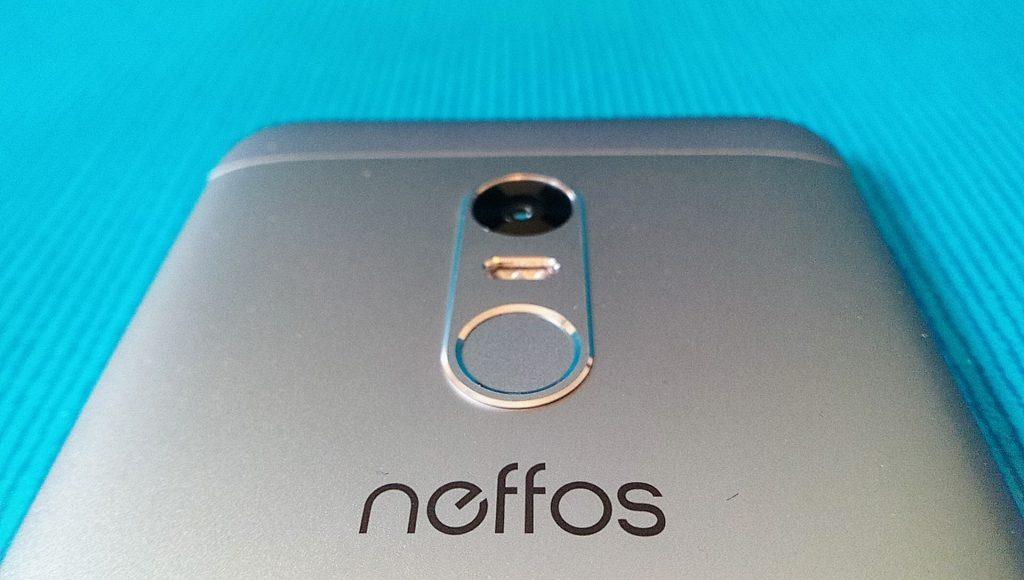 Neffos X1 Fingerabdruckscanner