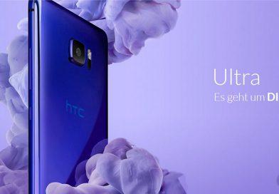 HTC U Ultra: Saphir-Display und 128 GB Speicher