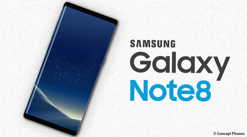 Samsung präsentiert Galaxy Note 8 Dual-Kamera