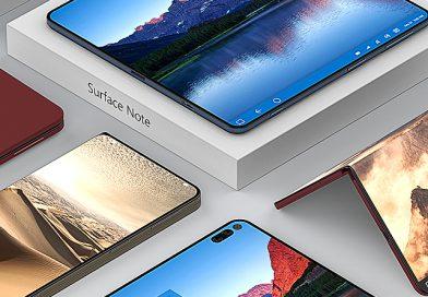 Surface Phone: Microsoft-Designer zeigt 12 Konzeptbilder