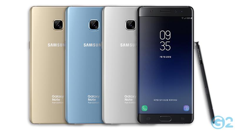 Samsung Galaxy Note 7 Fan-Edition