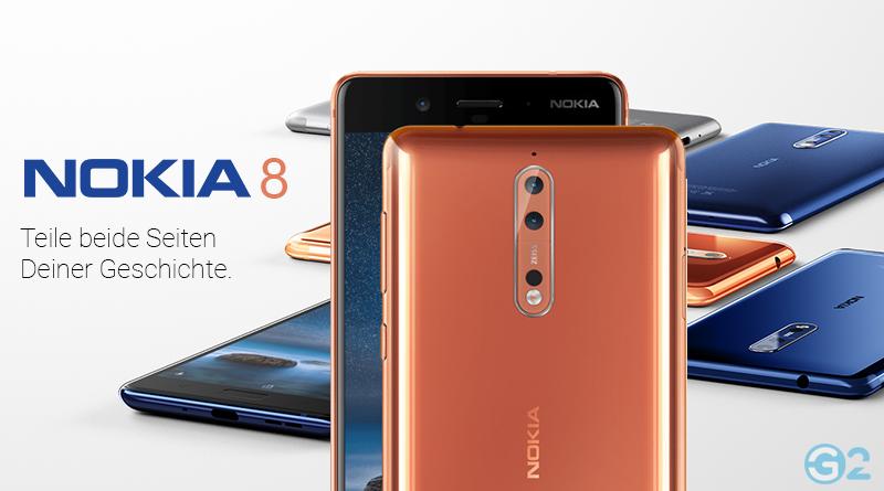 Nokia 8: Nun gibt es auch ein Android Flaggschiff aus Finnland