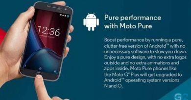 Moto G4 Oreo-Update