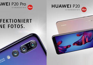 Huawei P20, P20 Lite und P20 Pro sind offiziell, zuzüglich einer Überraschung
